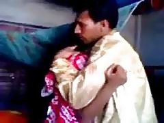Pakistani newly married guy trying zabardasti to wife very shy